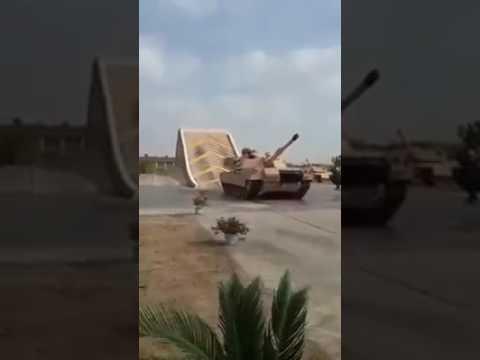 اختبار تصنيع دبابه مصرية MIAI   طراز ابرامز