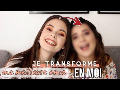 JE TRANSFORME MA MEILLEURE AMIE EN MOI