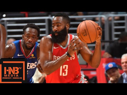 Houston Rockets vs LA Clippers Full Game Highlights | 10.21.2018, NBA Season
