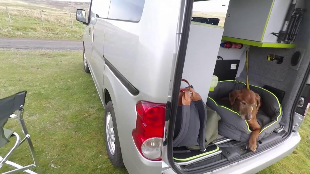 nissan nv200 combi campervan conversion for 800 youtube. Black Bedroom Furniture Sets. Home Design Ideas