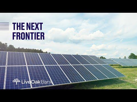 Renewable Energy Lending: The Next Frontier