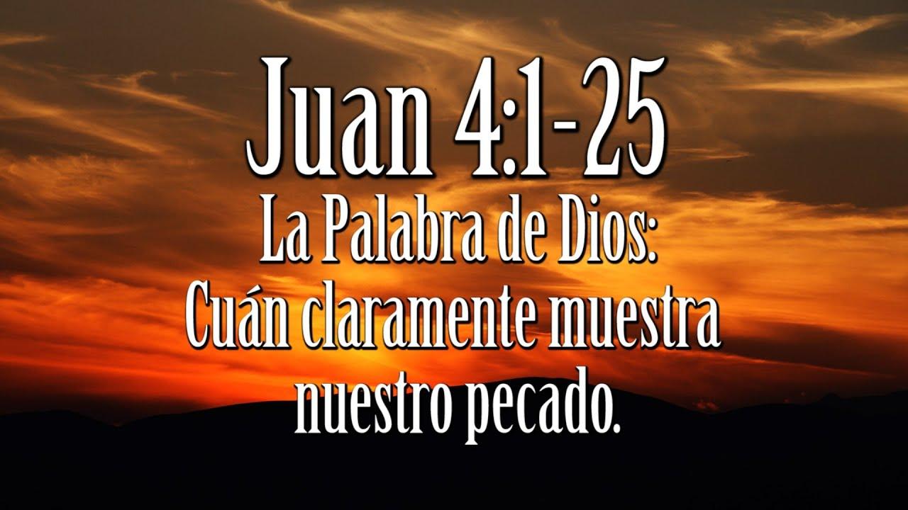 Juan 4:10 La Mujer Samaritana y cómo la Palabra de Dios
