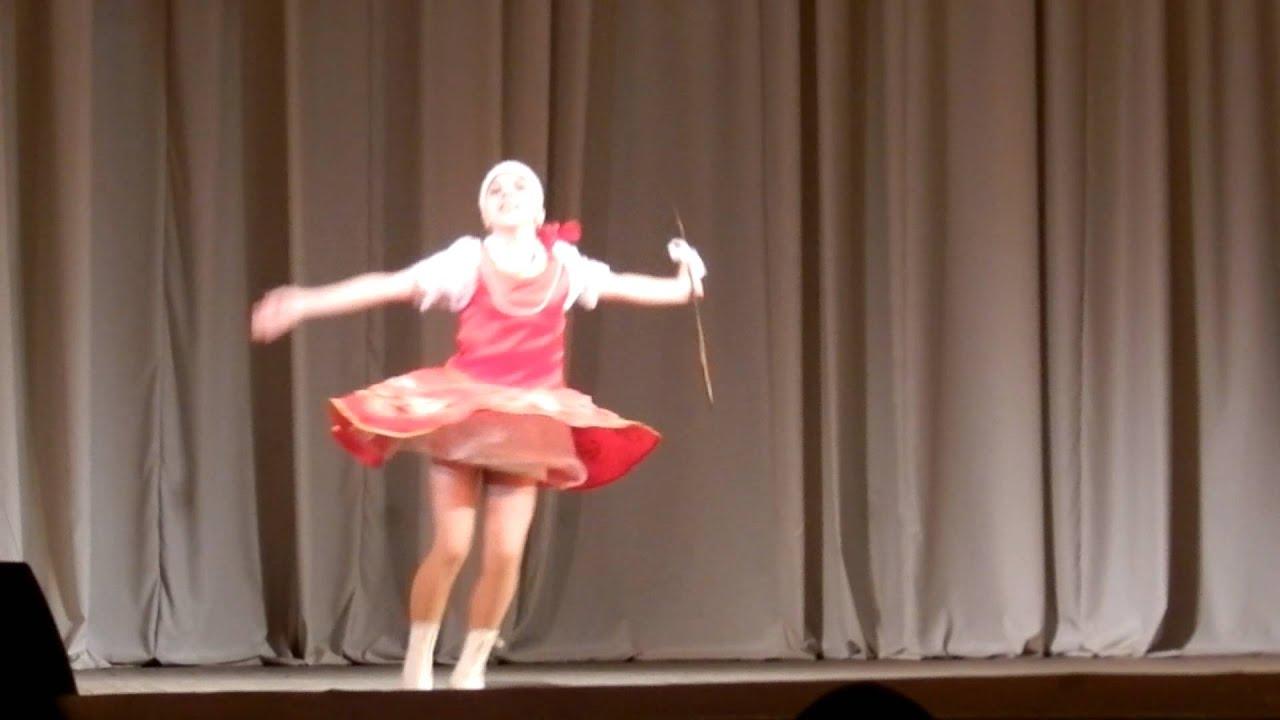 Народный танец рамашка соло