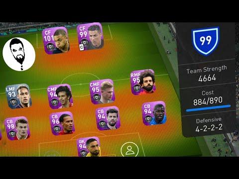 4660+ Team Strength Gameplay! PES 19 Mobile