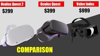 ... pc-based vr headsets.starting priceoculus quest 2: $299 oculus : $399