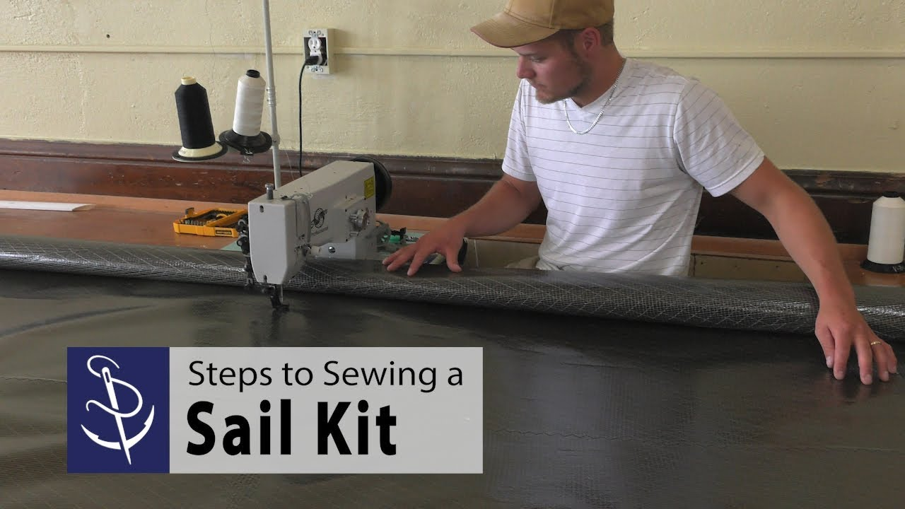 Steps to Sewing a Sail Kit from Sailrite