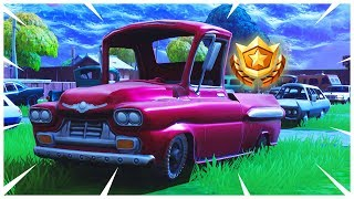 SECRET BATTLE STAR SEASON 5 WEEK 6 LOCATION! FORTNITE SECRET TIER WEEK 5 SEASON 5