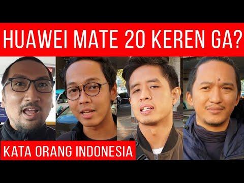 Apa Kata Orang Indonesia Tentang Huawei Mate 20 Pro? Wisnu Kumoro, Putu Reza, Putu Aditya