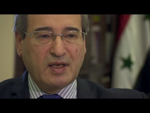 SYRIAN FM 'WEST TALKS TO DAMASCUS ABOUT ISLAMIST REBELS' - BBC NEWS