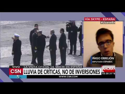 C5N - El Diario: Iñigo Errejón conversó con Victor Hugo Morales