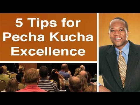 5 Tips to Pecha Kucha Excellence - Charles Greene III Presentation Magician