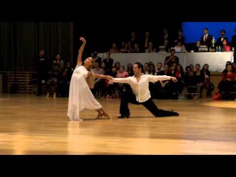 Pasha Pashkov & Daniella Karagach rumba show at Columbia University