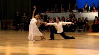 Pasha Pashkov & Daniella Karagach rumba show at Columbia University