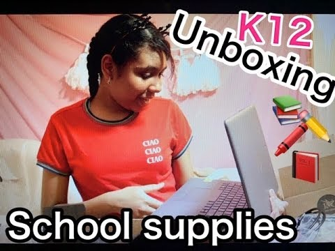 K12 LAPTOP UNBOXING  , VIRTUAL ACADEMY HOMESCHOOL SUPPLIES / JASSIE