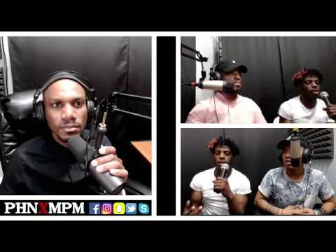Born Free Music Group Interview - PHNXMPMlive