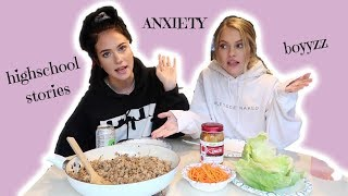 EAT WITH US *a mukbang* | feat. my sister