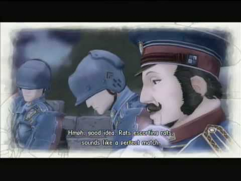 Valkyria Chronicles -  Chapter 15: Citadel Ghirlandaio  part 2- Story(25/32)