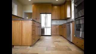 Kitchen tile flooring design ideas