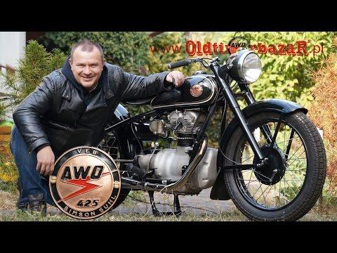 OldtimerbazaR ~ AWO 425 - opowiada Piotr Kawałek