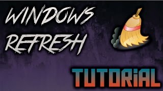 Clean your Windows!