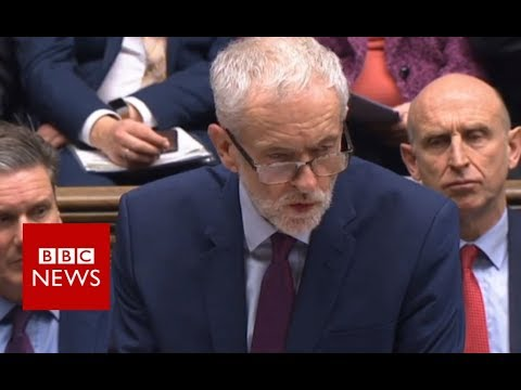 Leader of the Opposition Jeremy Corbyn: Government in 'complete disarray' - BBC News