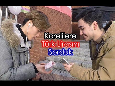 Korelilere TÜRK Lirasını sorduk! ŞOK CEVAPLAR!!