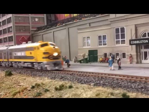 Model Trains Cell Phone Style