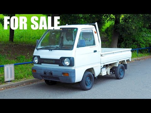 FOR SALE - 1990 Suzuki Carry Kei Truck (USA Legal) Japan Auction Purchase Review