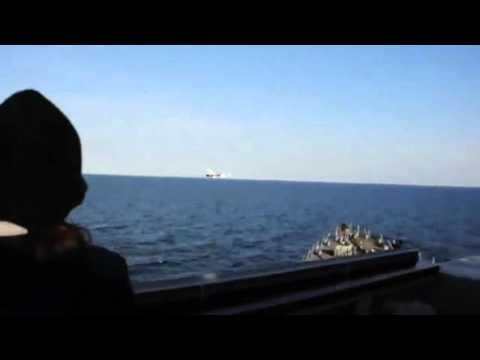 U.S. Navy ship encounters aggressive Russian aircraft in Baltic Sea