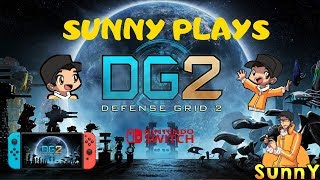 Defense Grid 2 Nintendo Switch Gameplay! High Quality Tower Defense Game? Lets play!