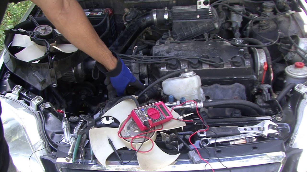 honda how to testing your fans on your honda and civic radiator fan gmc envoy cooling fan 1991 honda civic cooling fan wiring [ 1920 x 1080 Pixel ]