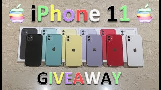 Unboxing Every Color iPhone 11 + Review & Giveaway [OPEN AS OF JAN 2020]
