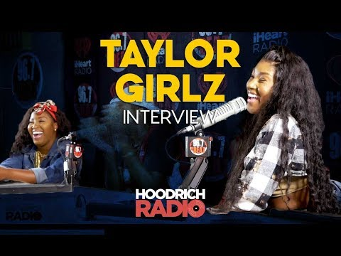 DJ Scream - Taylor Girlz Hoodrich Radio Interview with DJ Scream