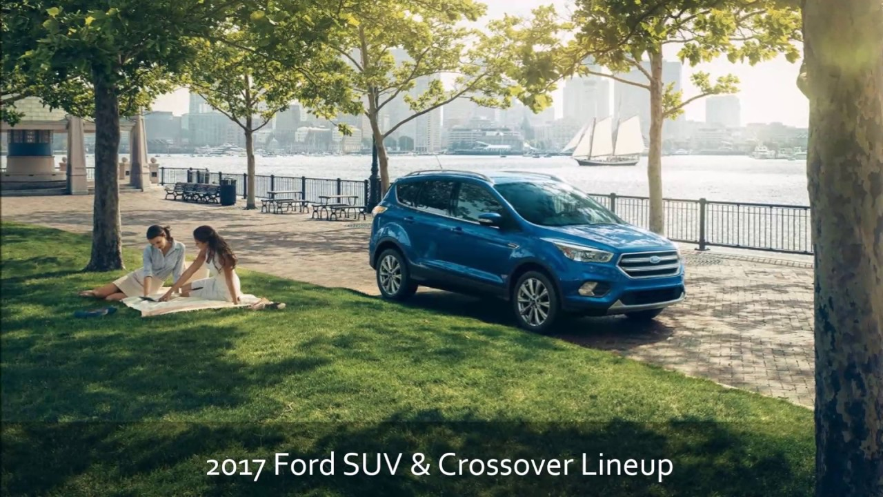Phil Fitts Ford >> 2017 Ford Suv Crossover Lineup At Phil Fitts Ford Serving Pittsburgh Pa And Youngstown Oh