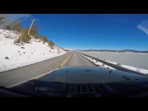 A drive around Baldwin Lake March 13th 2019