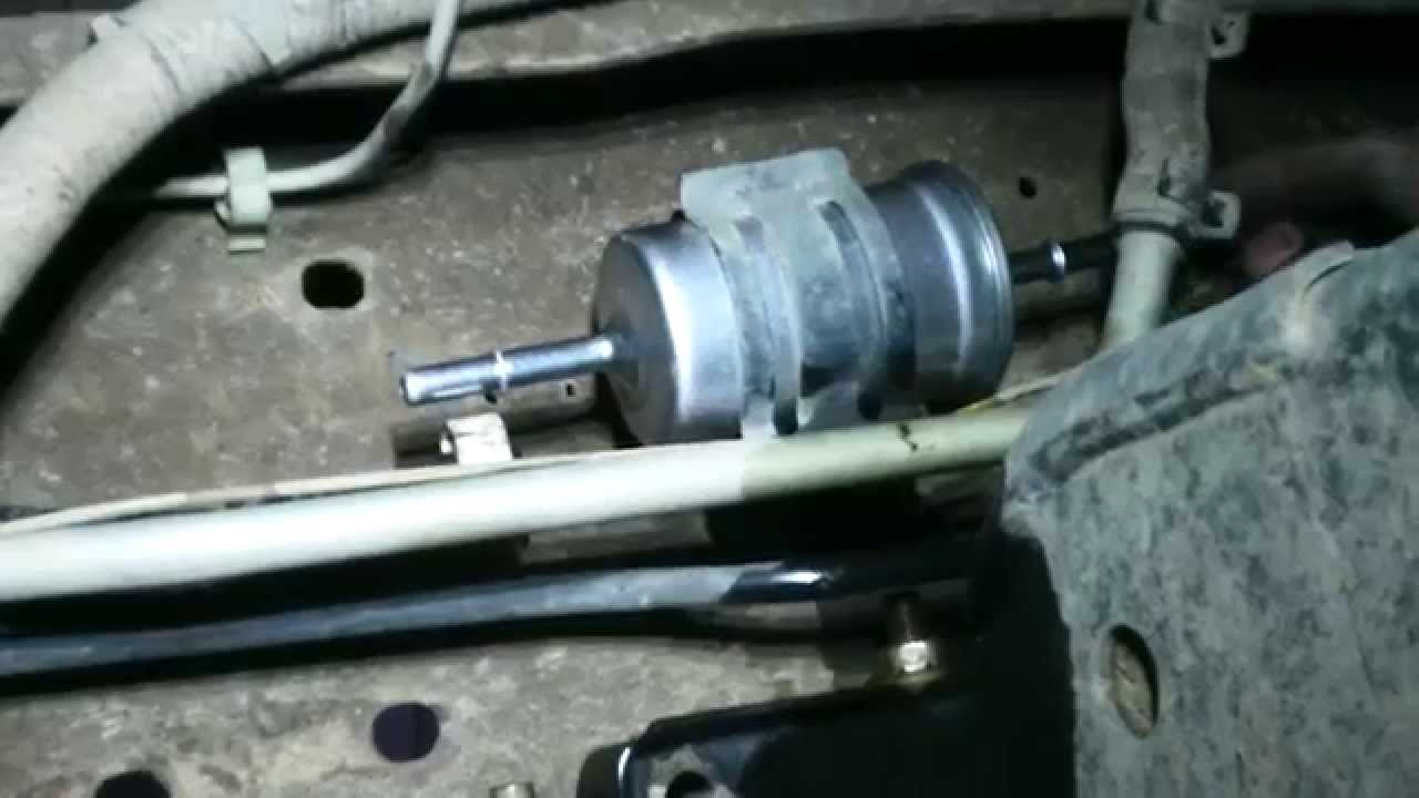 2000 f150 fuel filter location