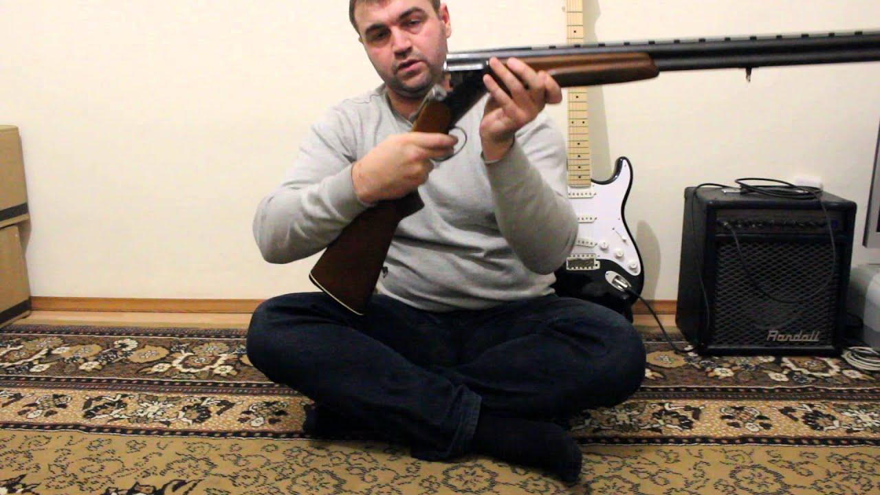 ИЖ -17. Легендарная советская одностволка! Обзор ружья - YouTube