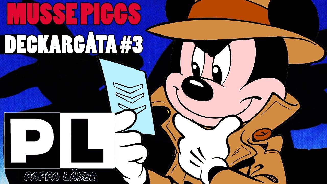 Musse Piggs deckargåta #3