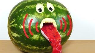 Watermelon Juice Party Trick