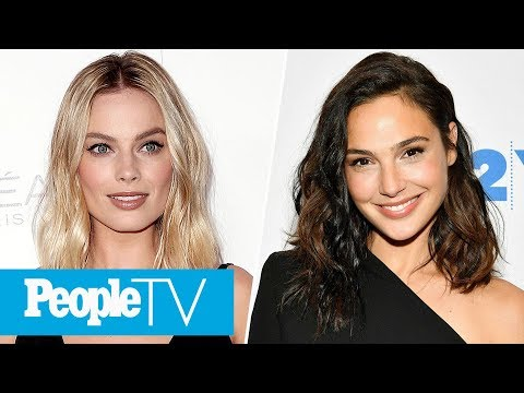 Download Youtube: Margot Robbie On Her Budding Friendship With 'Wonder Woman's' Gal Gadot & More | PeopleTV