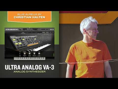Blue Aurelia—Christian Halten Demos Ultra Analog VA-3—analog Synthesizer