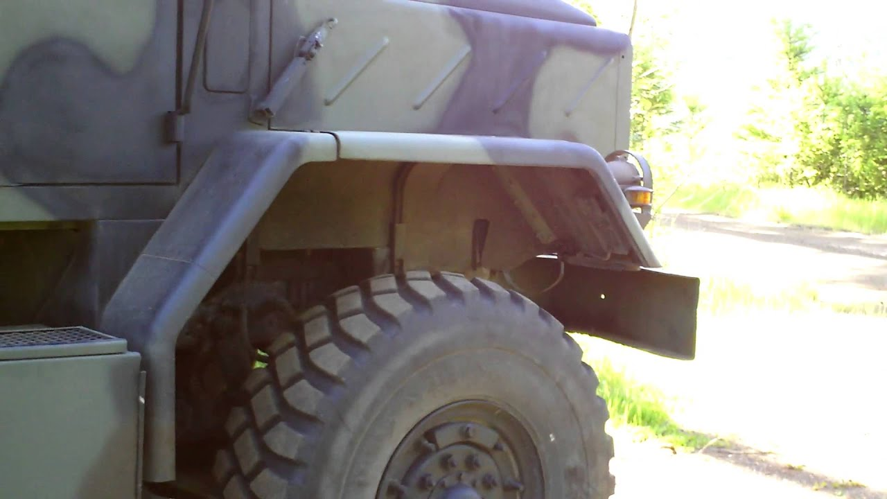 1991 Bmy M931a2s250 Shelter Camper Conversion Youtube