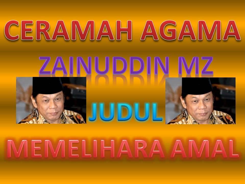 Kumpulan Ceramah Lengkap KH Zainuddin MZ - Aliy Faizal