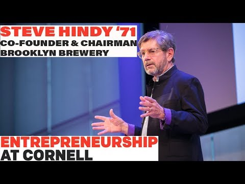 Steve Hindy '71 - Co-Founder and Chairman, Brooklyn Brewery