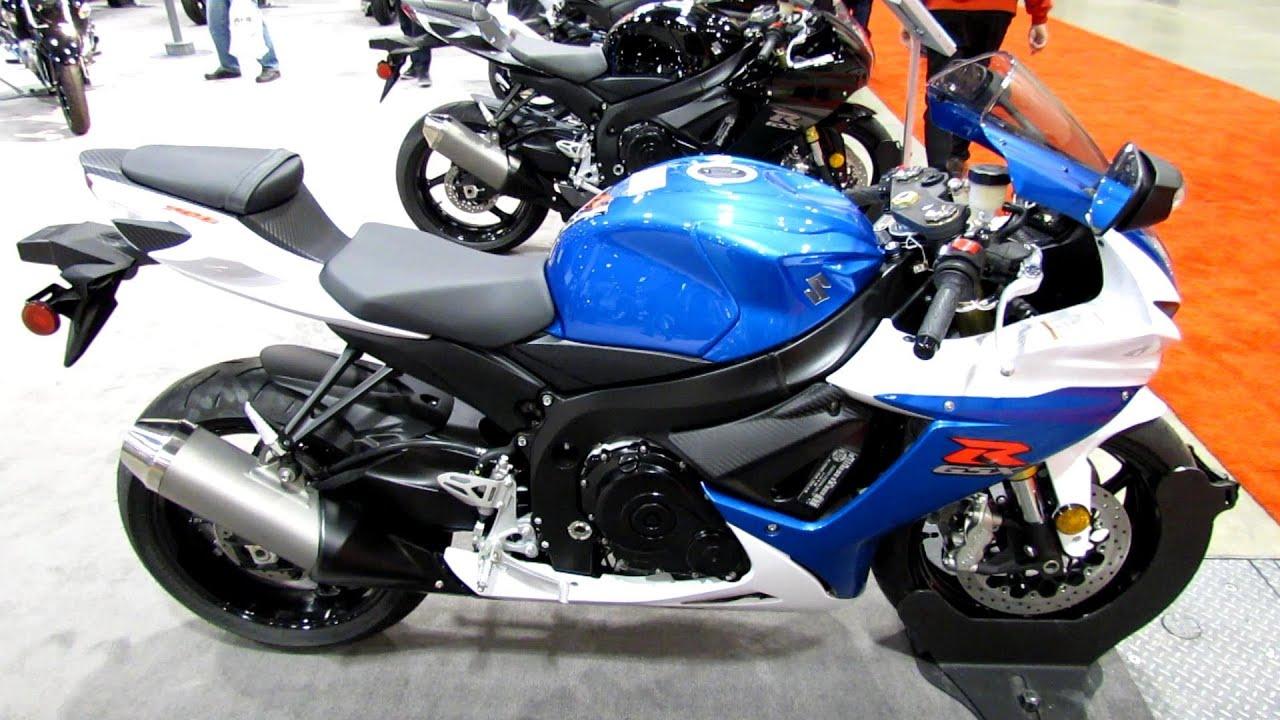 2013 Suzuki GSX-R750 - Walkaround - 2012 Toronto Motorcycle Show ...