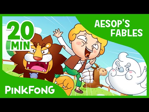 The Boy Who Cried Wolf | Aesop's Fables | + Compilation | PINKFONG Story Time for Children