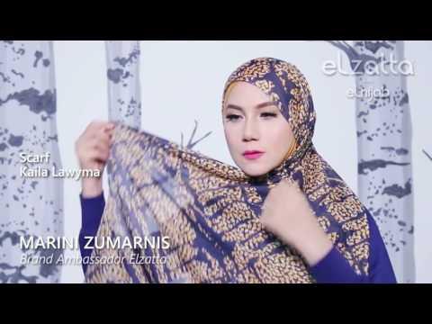 Hijab Tutorial Elegan Marini Zumarnis   elzattahijab