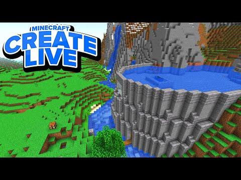 Der STAUDAMM ist fertig! Mending Bücher & mehr! - Minecraft CREATE LIVE #04