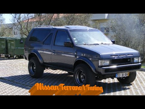 nissan terrano 1 tuning portugal youtube. Black Bedroom Furniture Sets. Home Design Ideas