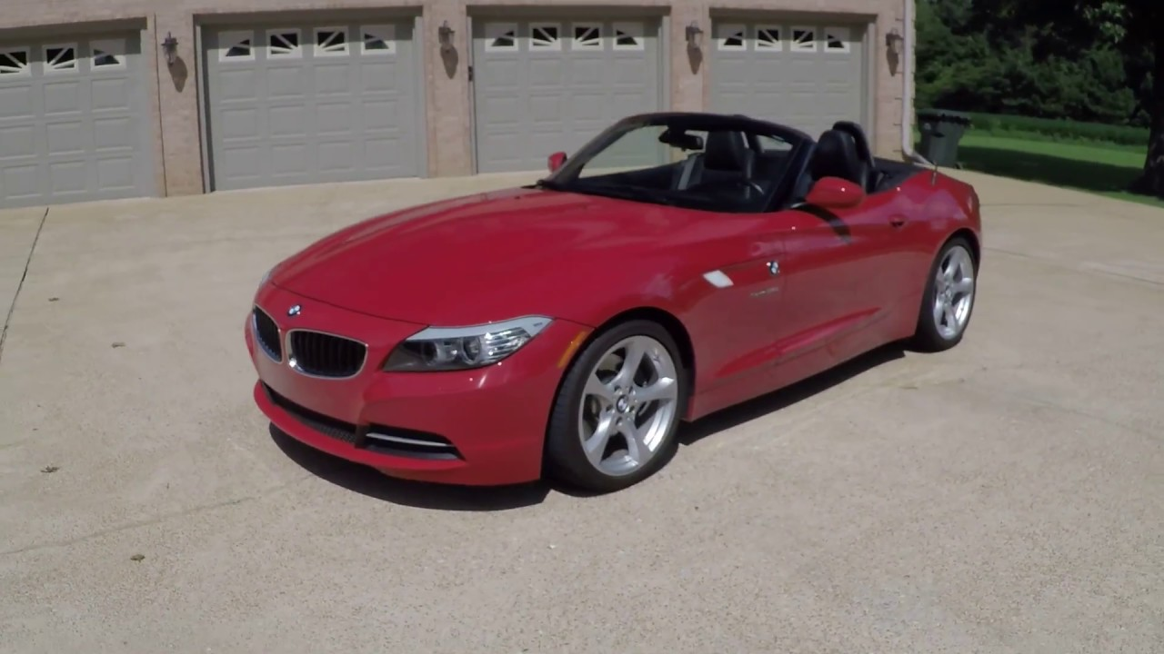 West Tn 2012 Bmw Z4 Roadster Convertible Crimson Red Used